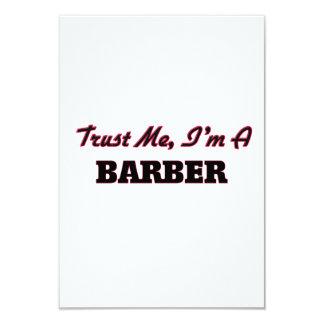 Trust me I'm a Barber Personalized Invites