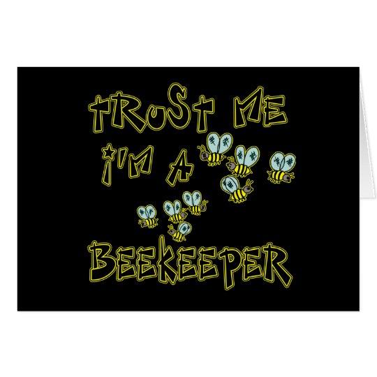 Trust Me I'm a Beekeeper Card
