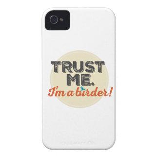 Trust me. I'm a Birder! Emblem Case-Mate iPhone 4 Case