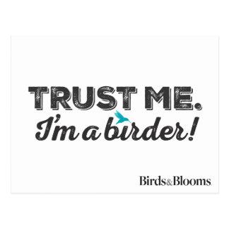 Trust me. I'm a Birder! Postcard