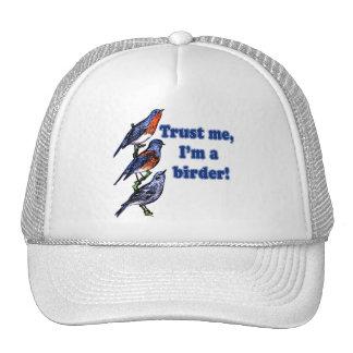 Trust Me I'm a Birder Trucker Hats