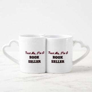 Trust me I'm a Book Seller Couples Mug