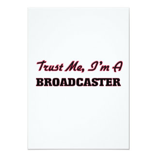 Trust me I'm a Broadcaster Personalized Invites