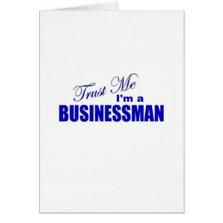 Trust Me I'm a Businessman Card