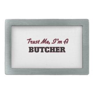 Trust me I'm a Butcher Rectangular Belt Buckle