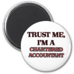 Trust Me I'm A CHARTERED ACCOUNTANT 2 Inch Round Magnet
