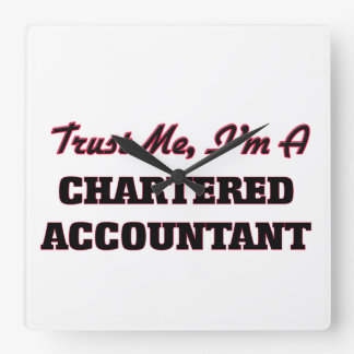 Trust me I'm a Chartered Accountant Wall Clock