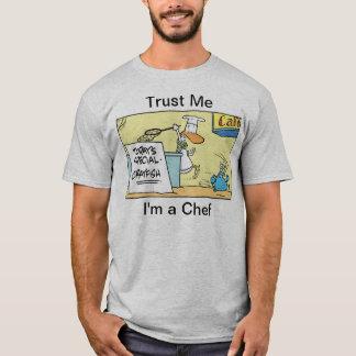 Trust Me I'm A Chef Cartoon Humour Shirt