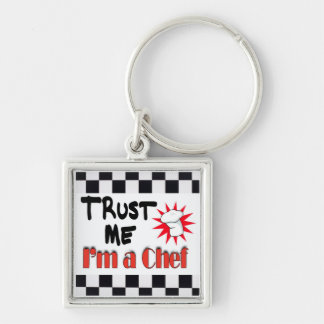 Trust Me I'm a Chef Keychain
