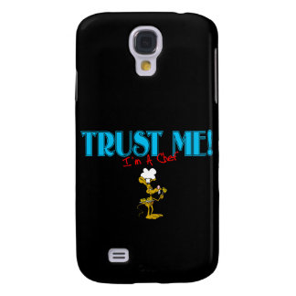 Trust Me I'm A Chef Mouse graphic Galaxy S4 Cover