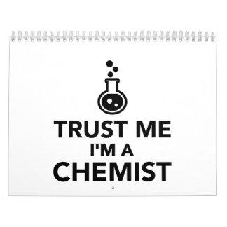 Trust me I'm a Chemist Calendar