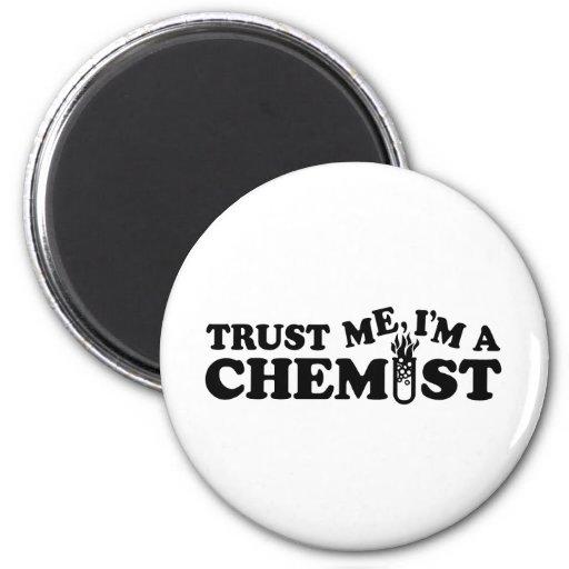 Trust Me I'm a Chemist Refrigerator Magnet