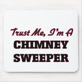 Trust me I'm a Chimney Sweeper Mousepads