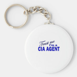 Trust Me I'm a CIA Agent Keychain
