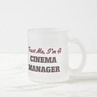 Trust me I'm a Cinema Manager Coffee Mugs