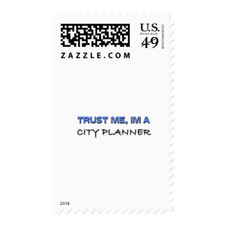 Trust Me I'm a City Planner Postage Stamp