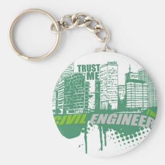 Trust Me I'm A Civil Engineer 2 Keychain