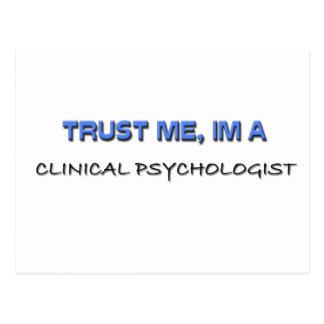 Trust Me I'm a Clinical Psychologist Postcard