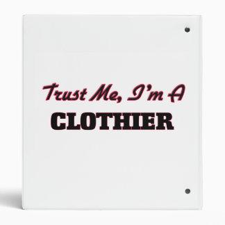 Trust me I'm a Clothier Vinyl Binders