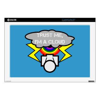 Trust me I'm a cloud Laptop Skins