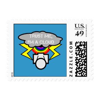 Trust me I'm a cloud Postage Stamp