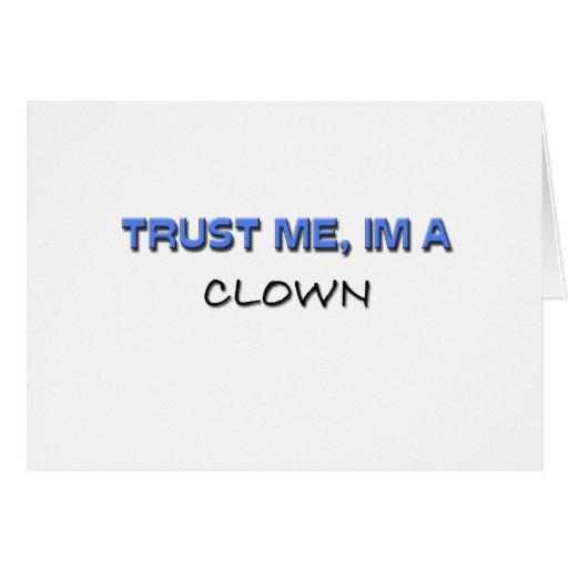 Trust Me I'm a Clown Cards