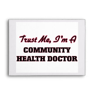 Trust me I'm a Community Health Doctor Envelope
