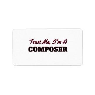 Trust me I'm a Composer Labels