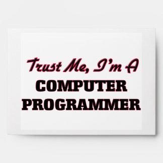 Trust me I'm a Computer Programmer Envelopes