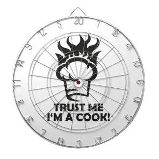 Trust me i'm a cook! dart boards