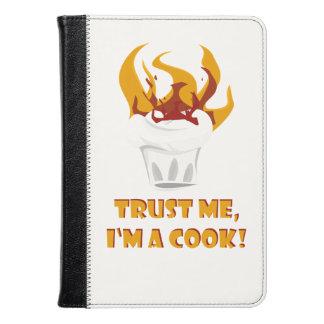 Trust me i'm a cook! kindle case