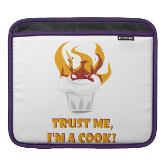 Trust me i'm a cook! sleeve for iPads