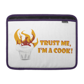 Trust me i'm a cook! sleeve for MacBook air