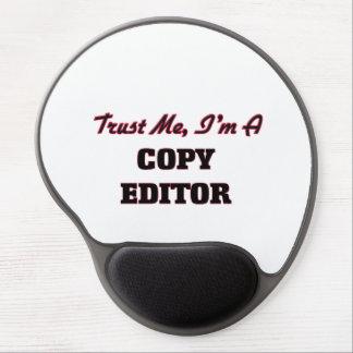 Trust me I'm a Copy Editor Gel Mouse Pad