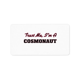 Trust me I'm a Cosmonaut Labels