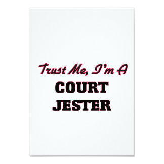 Trust me I'm a Court Jester 3.5x5 Paper Invitation Card
