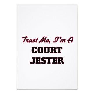 Trust me I'm a Court Jester 5x7 Paper Invitation Card