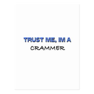 Trust Me I'm a Crammer Postcard
