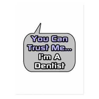 Trust Me .. I'm a Dentist Postcard