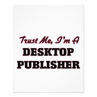 Trust me I'm a Desktop Publisher Personalized Flyer