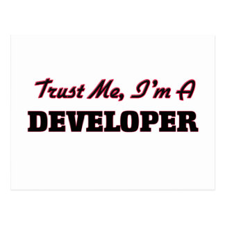 Trust me I'm a Developer Postcards