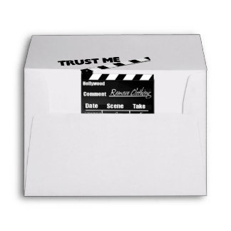 Trust Me I'm A Director Clapboard Envelope