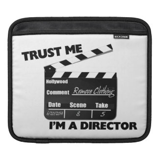 Trust Me I'm A Director Clapboard iPad Sleeve