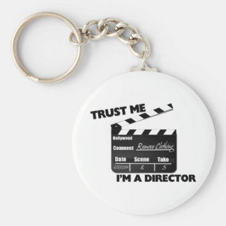 Trust Me I'm A Director Clapboard Keychain