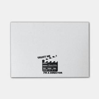 Trust Me I'm A Director Clapboard Post-it Notes
