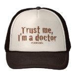 Trust me, I'm a doctor... Hats