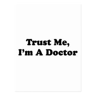 Trust Me, I'm A Doctor Postcard