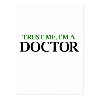 Trust Me, I'm A Doctor Post Cards