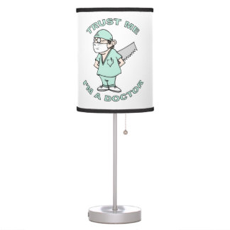 Trust me, I'm a Doctor Table Lamp