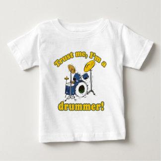Trust Me Im a Drummer Baby T-Shirt